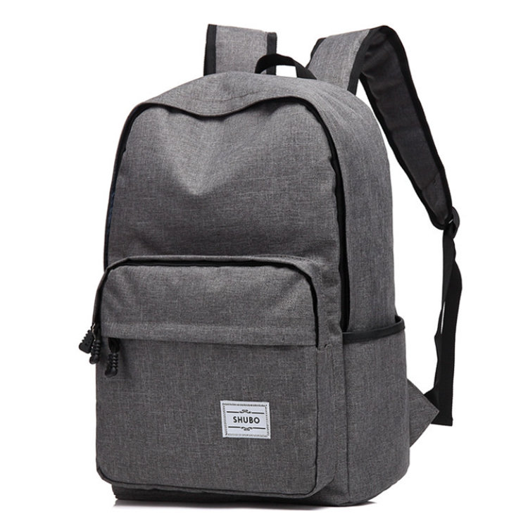 product-Osgoodway Casual Student Shoulders Backpack Polyester College School Backpack with Laptop Po-1
