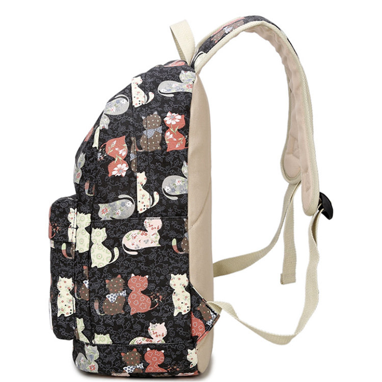 product-Osgoodway-Osgoodway2 China Factory Wholesale Bag Print Canvas School Backpack For Teenager-i