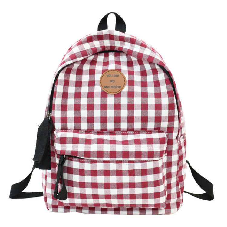 Osgoodway 2019 New Arrivals Wholesale Travel Canvas College Girls Backpack School