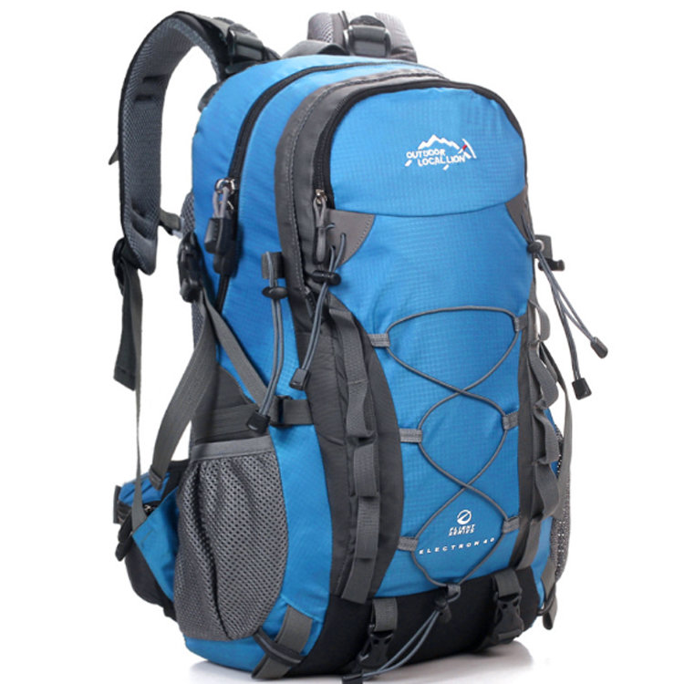 Osgoodway2 Water Resistant Nylon Hiking Backpack Outdoor Sports Camping Bag for Wholesale