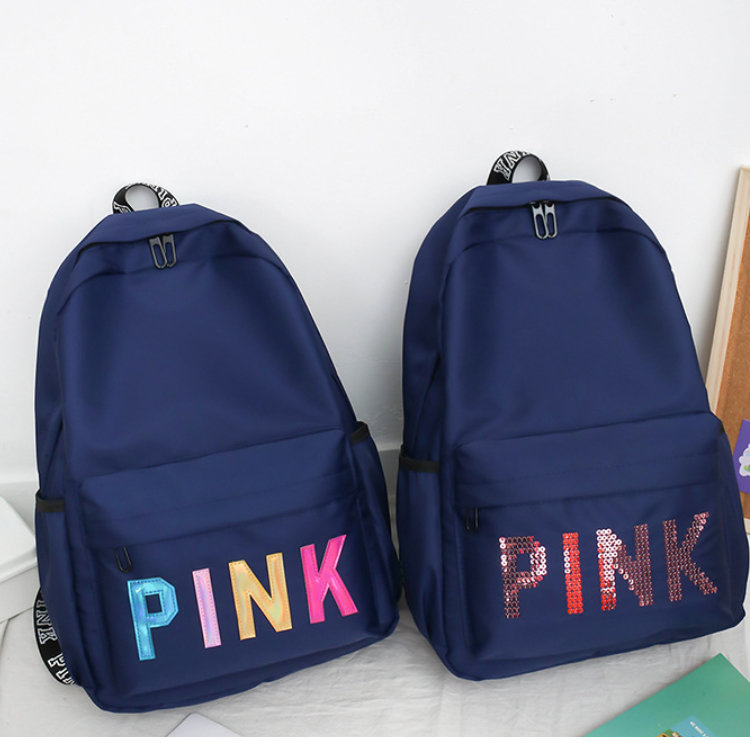 product-Osgoodway2 The Newest Multi Colors Funky Girls Backpack Waterproof Glitter Letter Backpack W-1