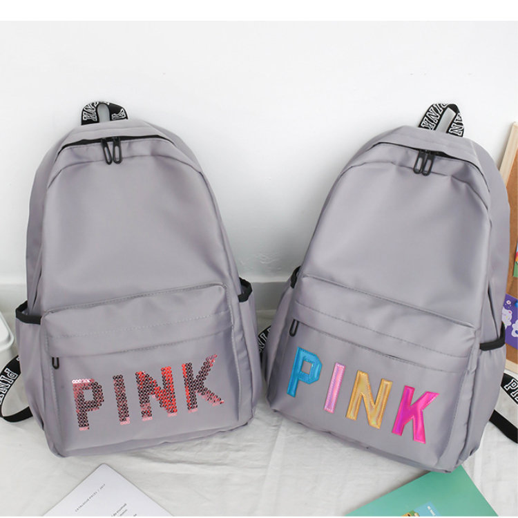 product-Osgoodway-Osgoodway2 The Newest Multi Colors Funky Girls Backpack Waterproof Glitter Letter
