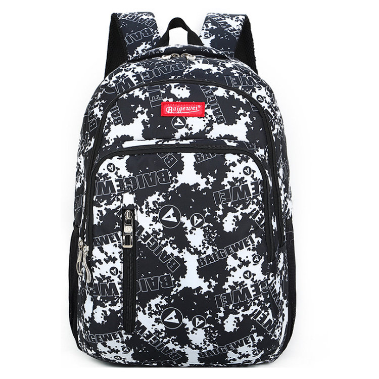 product-Osgoodway-Osgoodway BSCI Factory Custom Sublimation Printing Girl Fashion Backpack for Colle