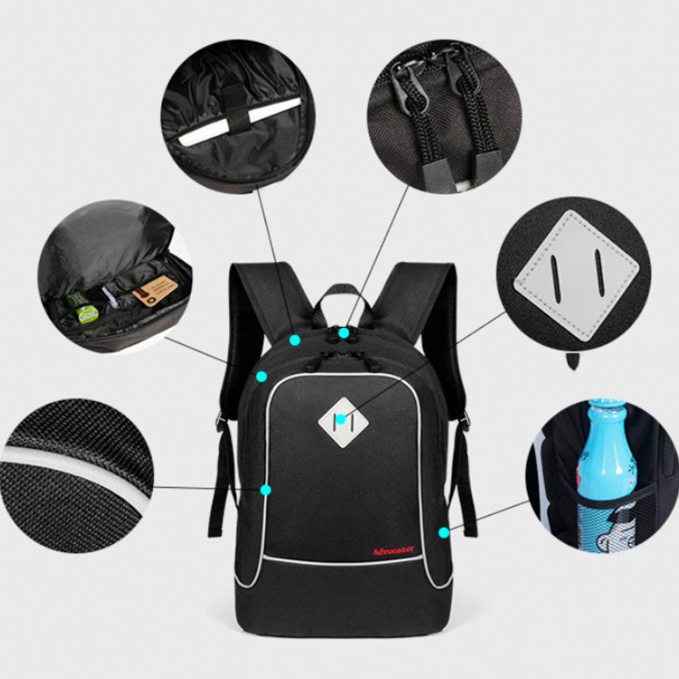 product-Osgoodway-Osgoodway 600D Polyester Quality Backpack for Laptop China OEM Sports Fashion Scho