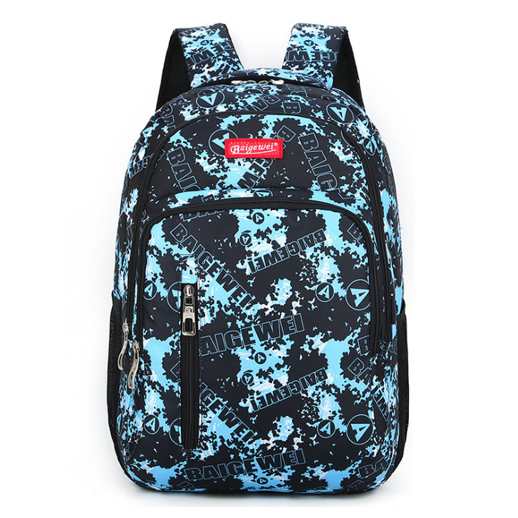 Osgoodway BSCI Factory Custom Sublimation Printing Girl Fashion Backpack for College Student