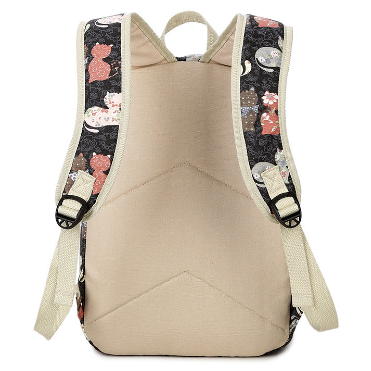 product-Osgoodway2 China Factory Wholesale Bag Print Canvas School Backpack For Teenager-Osgoodway-i-1