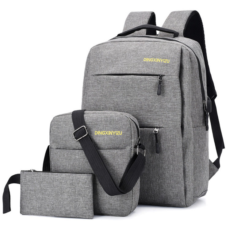 Osgoodway2 Top Fashion Cute Cheap 3pcs Travel Laptop Backpack Back to School Bag Set