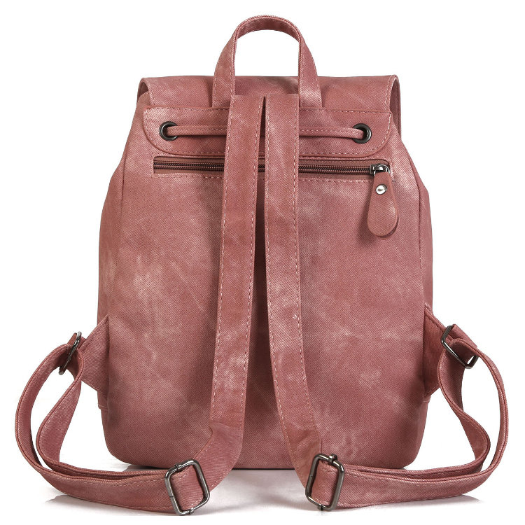 product-Osgoodway-Osgoodway2 Brand Women Leather Backpacks Female Fashion Rucksack Mochila Grey Blac