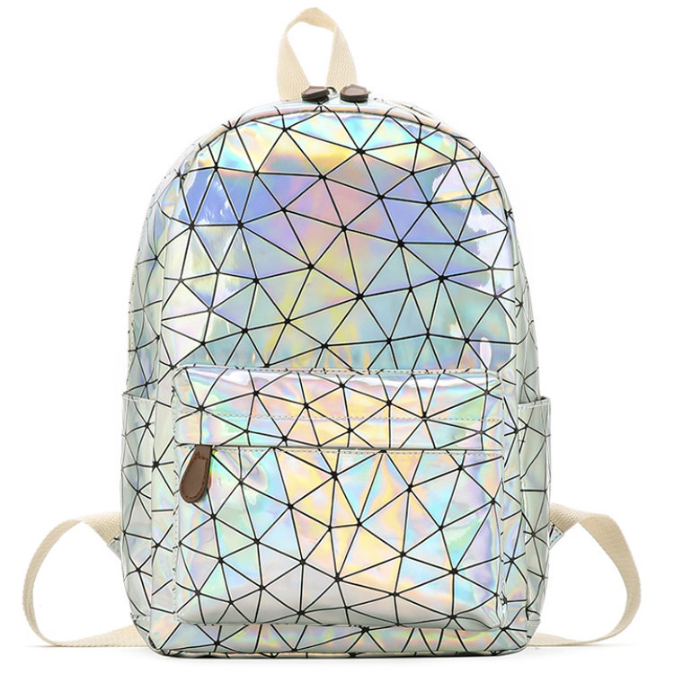 Osgoodway2 Magic School Backpack Laser Holographic Mochias Backpack Bags For High School Girls