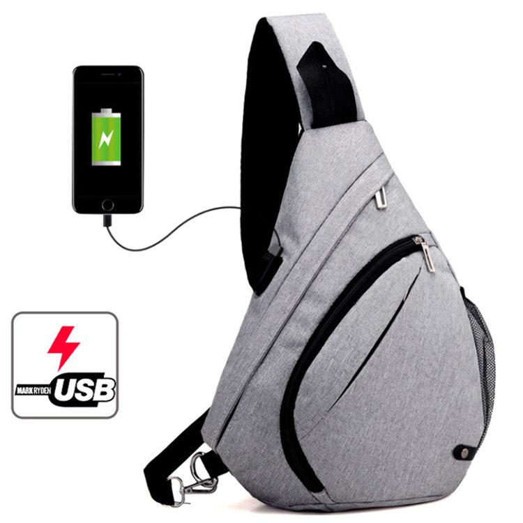 Osgoodway2 Fashion Trendy Hiking Daypack Sling Bag Crossbody Backpack Shoulder Bag Men