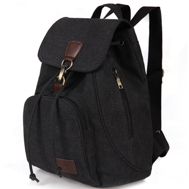 product-Osgoodway-Osgoodway2 Factory Price Drawstring Travel Rucksack CanvasWomen Backpack School Ba
