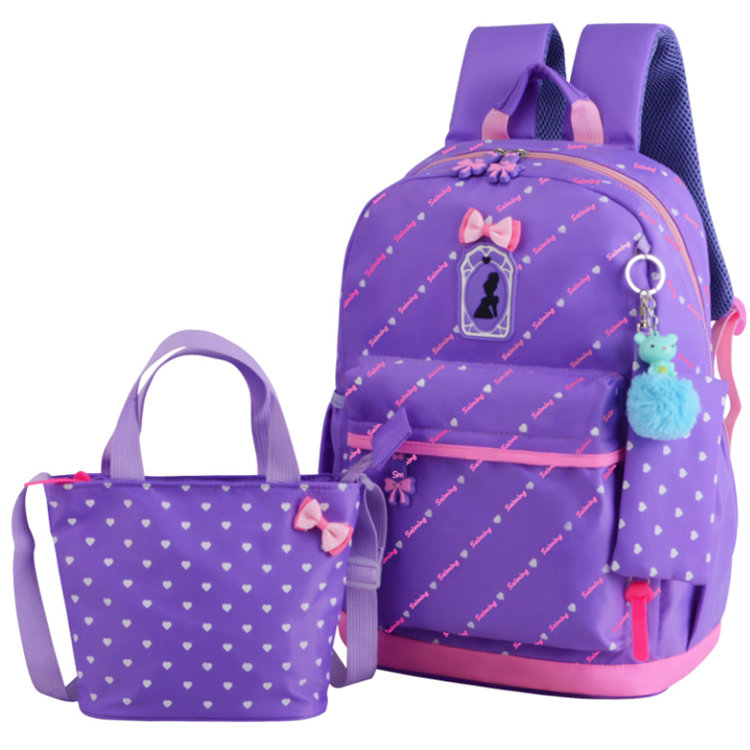 product-Osgoodway-Osgoodway 3 Pieces School Backpack Bag Set Teens Backpack School Bags Fancy Backpa