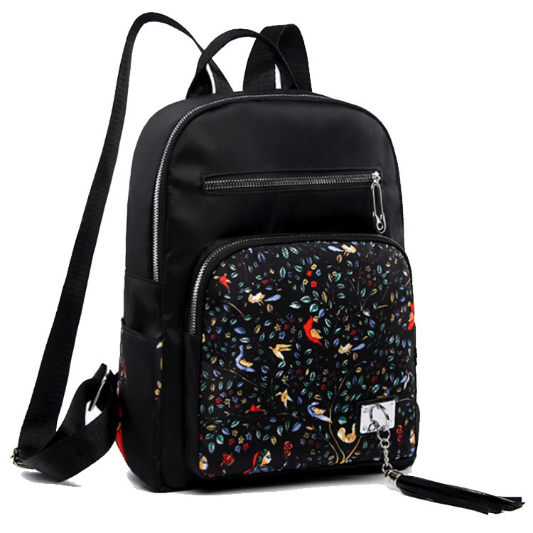 product-Osgoodway-Osgoodway2Elephant Waterproof Nylon Lightweight School Shoulder Bag Fashion Lady C