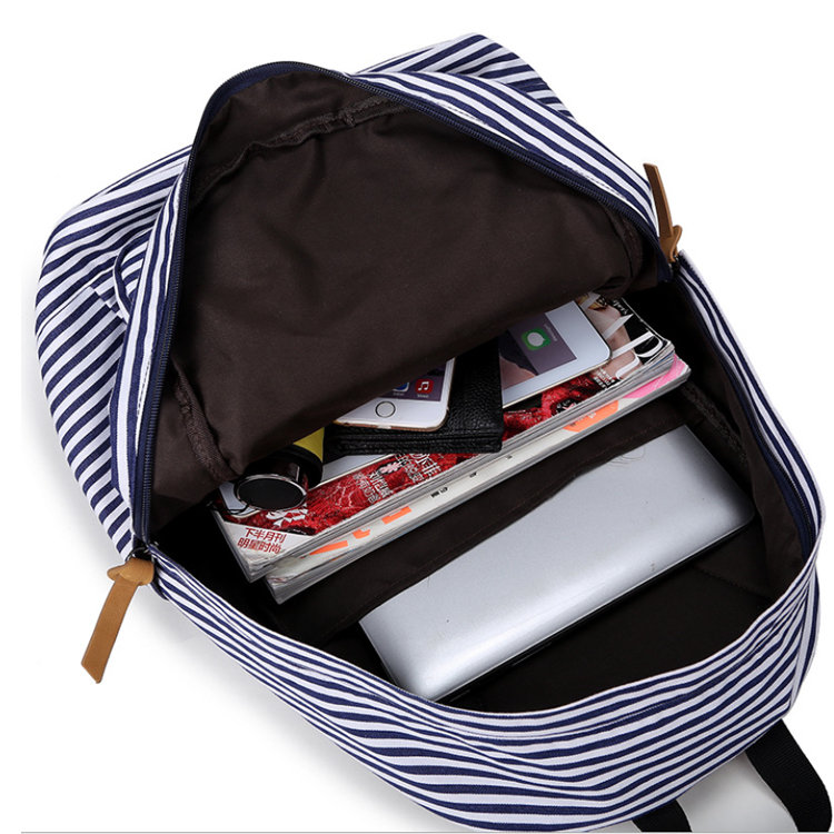 product-Osgoodway-Osgoodway OEM Trendy Canvas Mochilas Teens Backpack School Bags Women School Backp