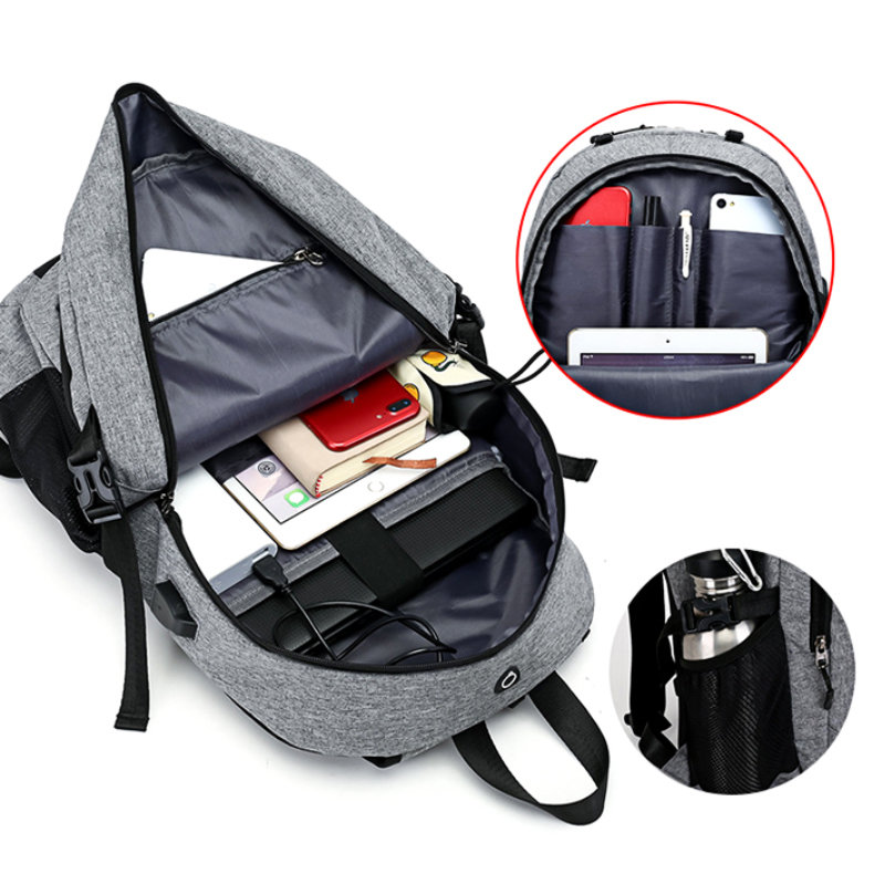 product-Osgoodway-Osgoodway Amazon Hot Selling Men Bags Laptop Charging Backpack with Basketball Net