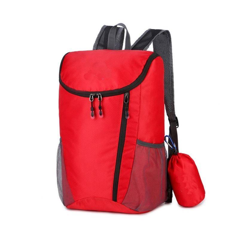 Osgoodway Custom Logo Lightweight Waterproof Nylon Foldable Travelling Backpack Bag