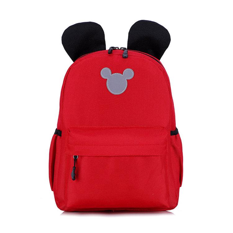 Osgoodway2 Mickey Mouse Shape Wholesale Kids Mini Children School Backpacks for Kids School Bag