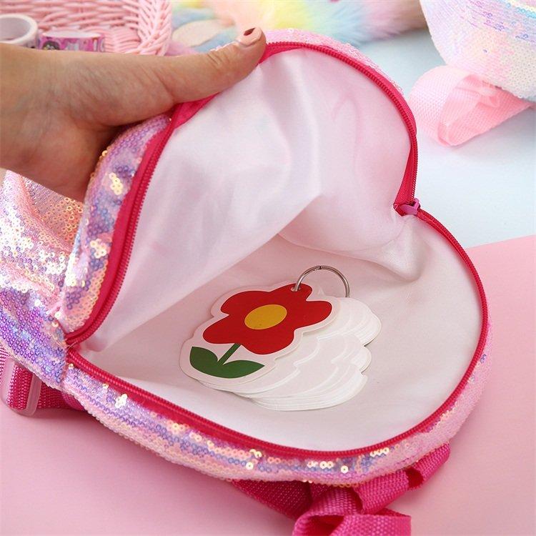 product-Osgoodway2 cute cartoon kindergarten small schoolbag sequin toddler backpack for kids-Osgood-1