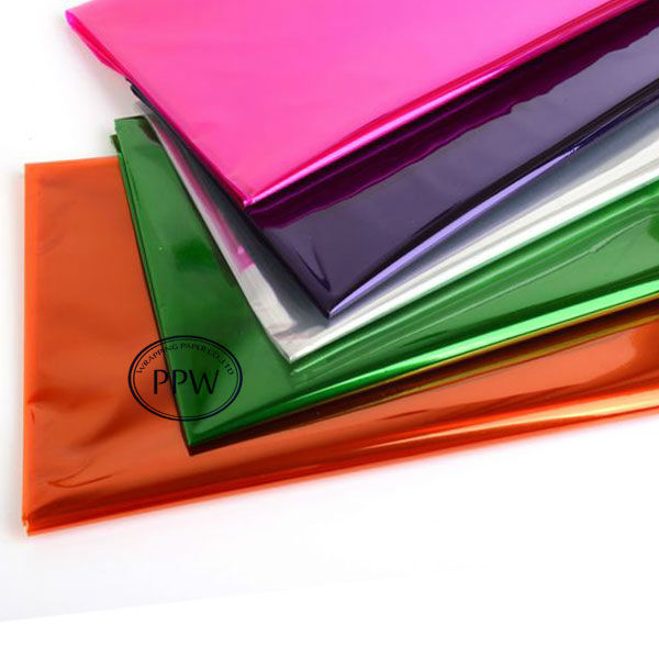 Printed Solid Color Cellophane Sheets Wholesale