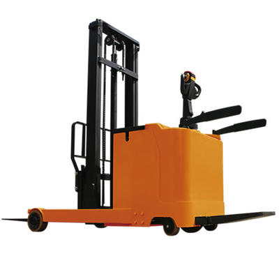 Full electric AC driving electric reach forklift truck stacking forklift reach stacker