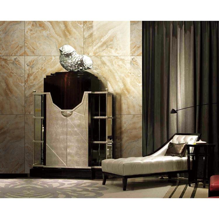 Artificial imitation marble look porcelain tile