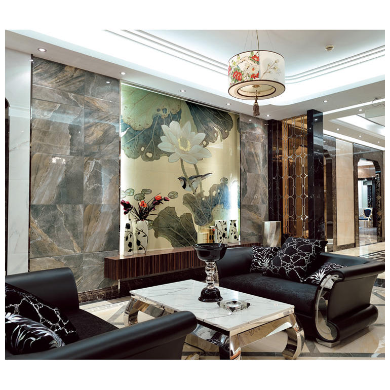 Decorative background wall tiles scenery