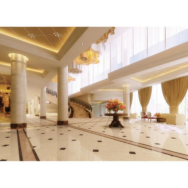 Hotel lobby floor tiles