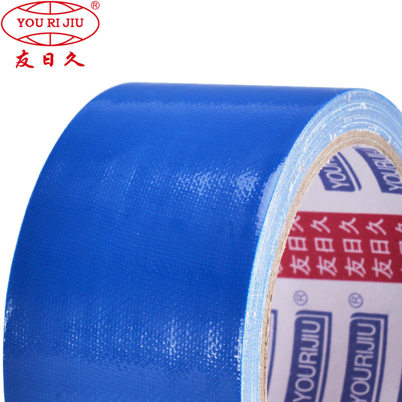 Fiber cloth duct tape for sticky sealing fixing protection