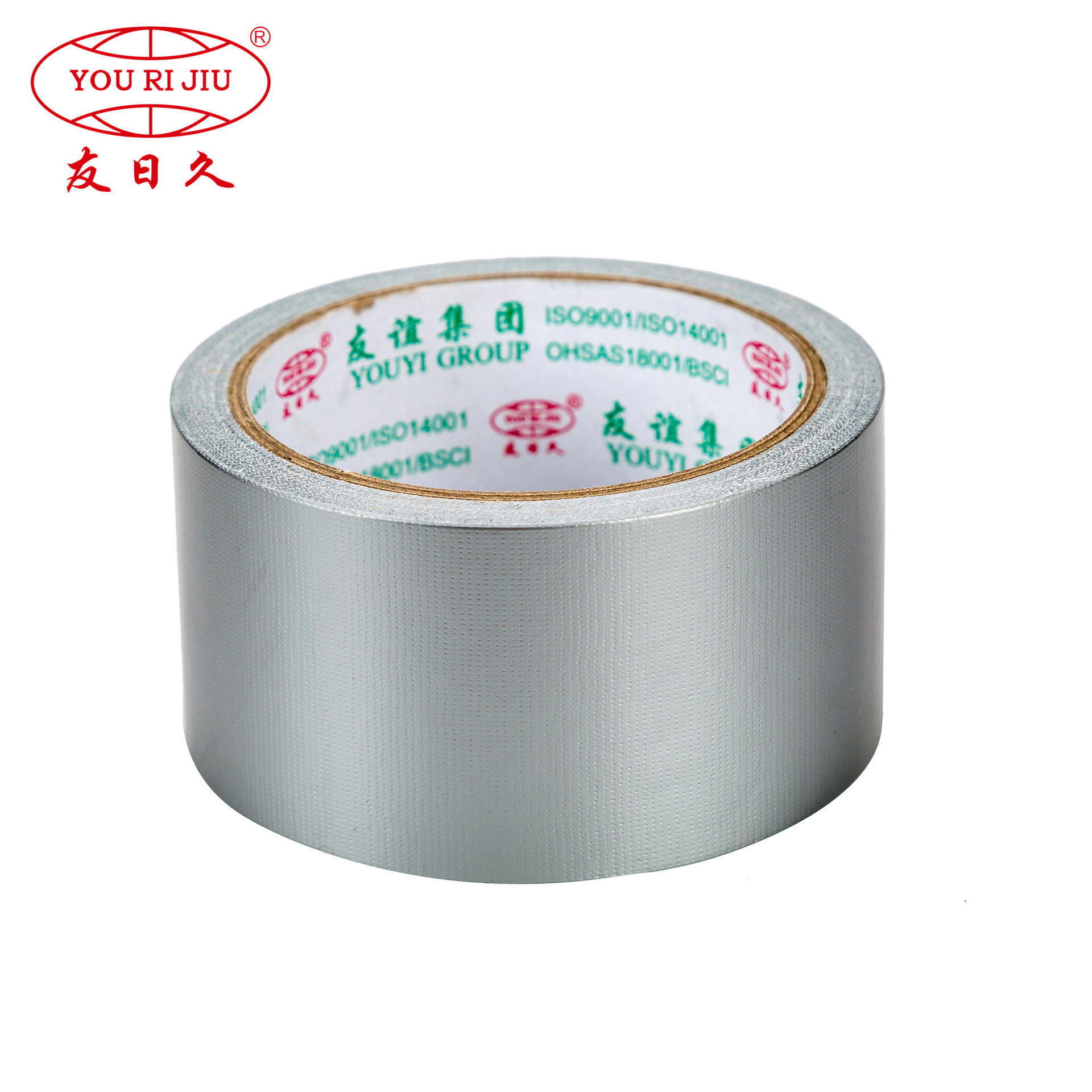 Custom rubber adhesive colorful decorative neon printed cloth duct tape