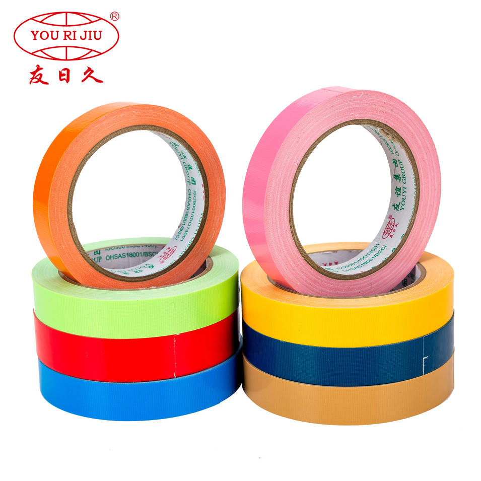 Rubber Duct tape holt melt cloth tape Fluorescent Colored Duct Tape