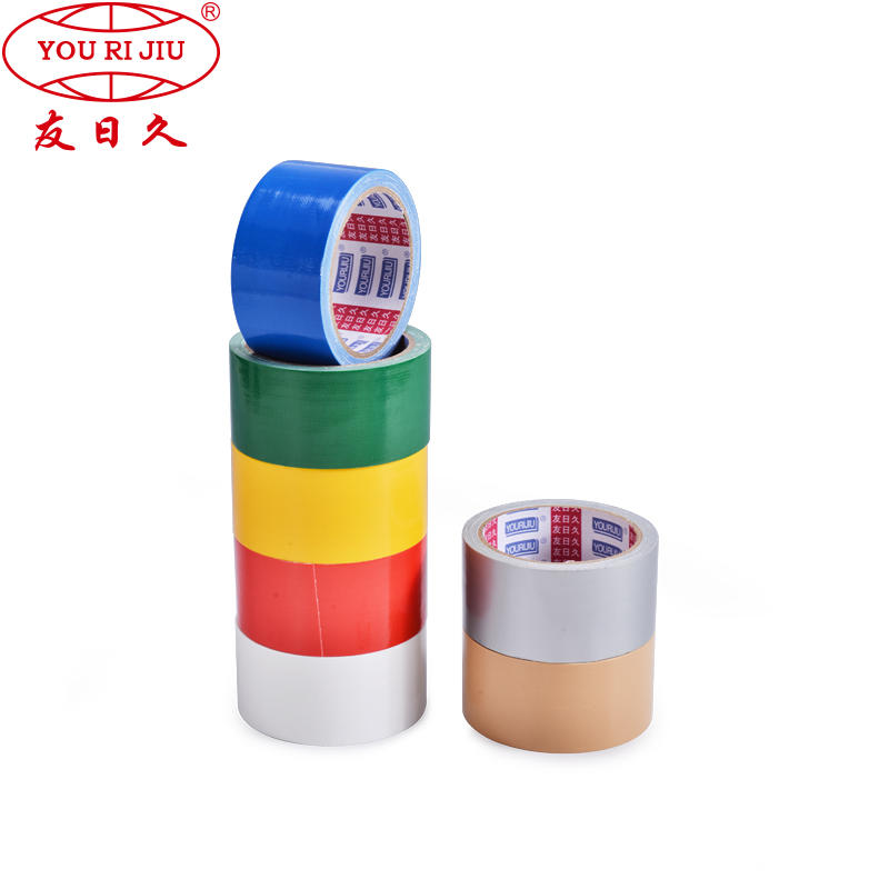 Wholesale colourful strong adhesive reinforced custom printing duck cloth duct tape