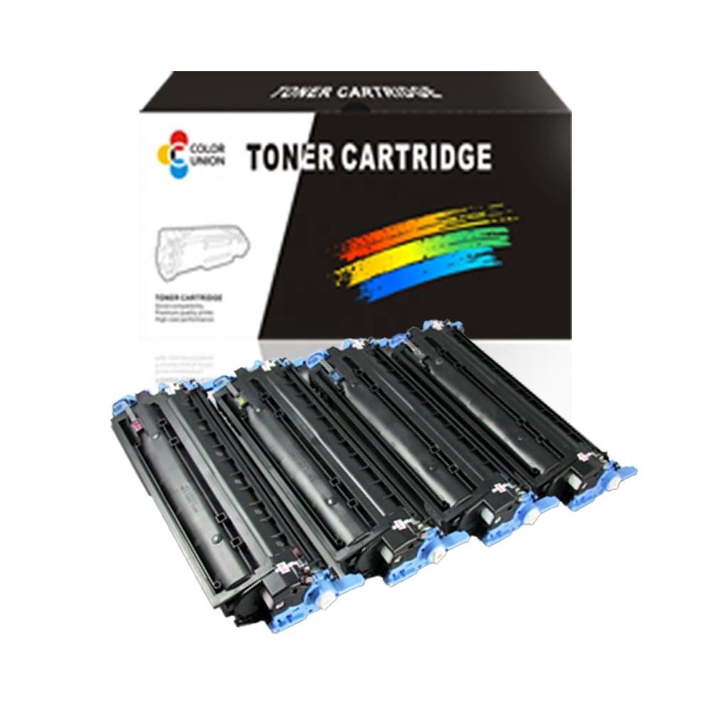 China premium color toner cartridges Q6000A 6001A 6002A 6003A 124A for HP Color LaserJet 1600/ 2600/ 2600n/ 2605/ CM1015/ CM1017