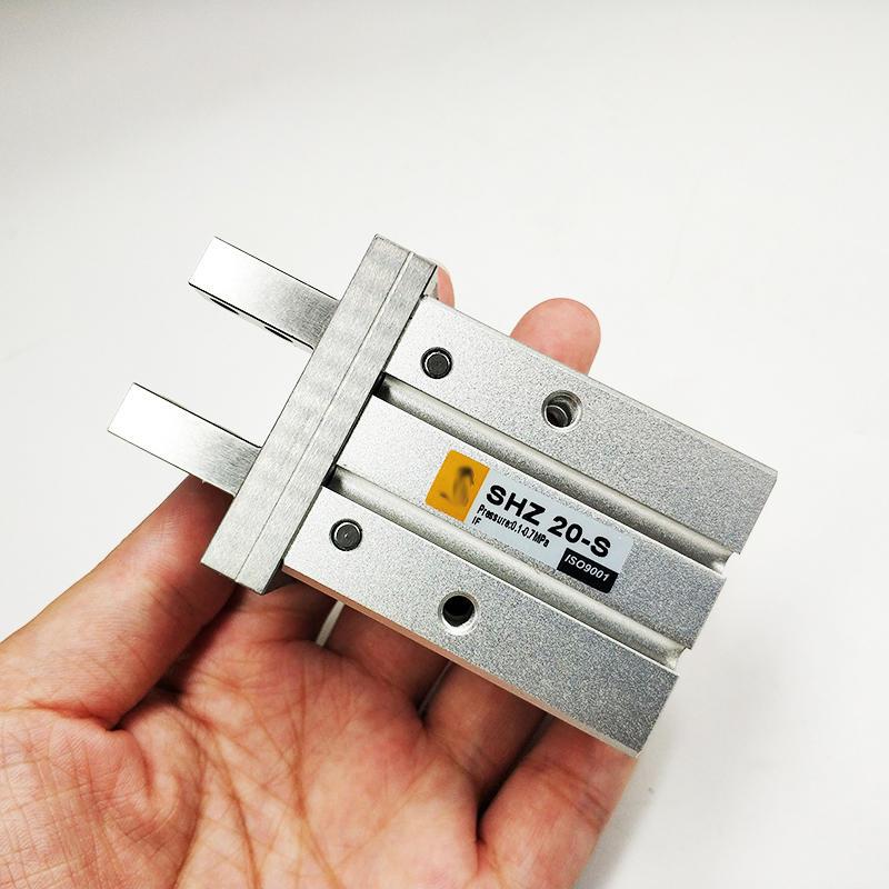 Aluminium Alloy Finger Cylinder SHZ Series SHZ20-S Pneumatic Parallel Finger Cylinder