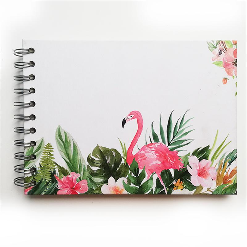 Flamingo photo album 4x6 custom large DIY inner page album