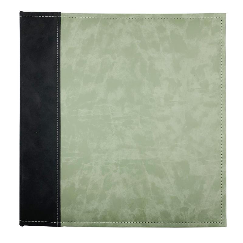 product-Custom self adhesive Colorful PU leather cover scrapbook photo album-Dezheng-img-2