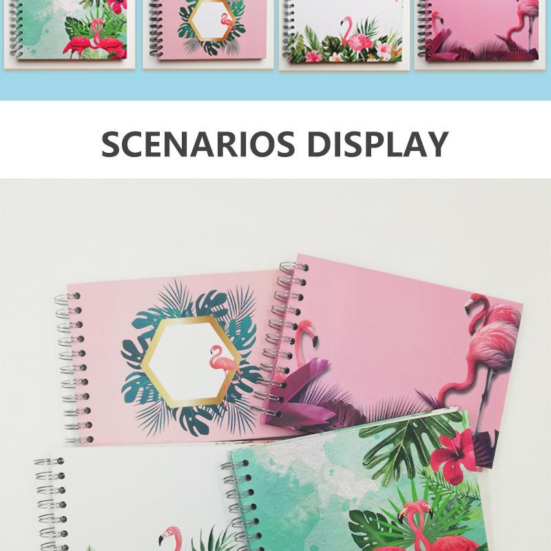 product-Dezheng-Flamingo photo album 4x6 custom large DIY inner page album-img-1