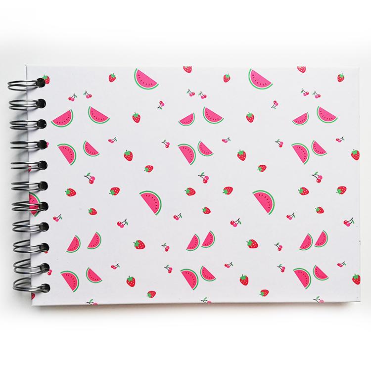 product-Dezheng-Mini size self adhesive DIY photo album Coil spiral binding album custom flamingo-im-3