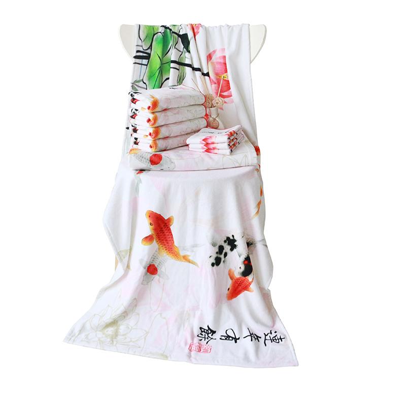 2021 Top Selling pattern Customized Printed Beach Towel