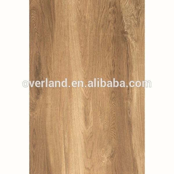 Wooden grain tiles ceramic polished nature look wood floor tile