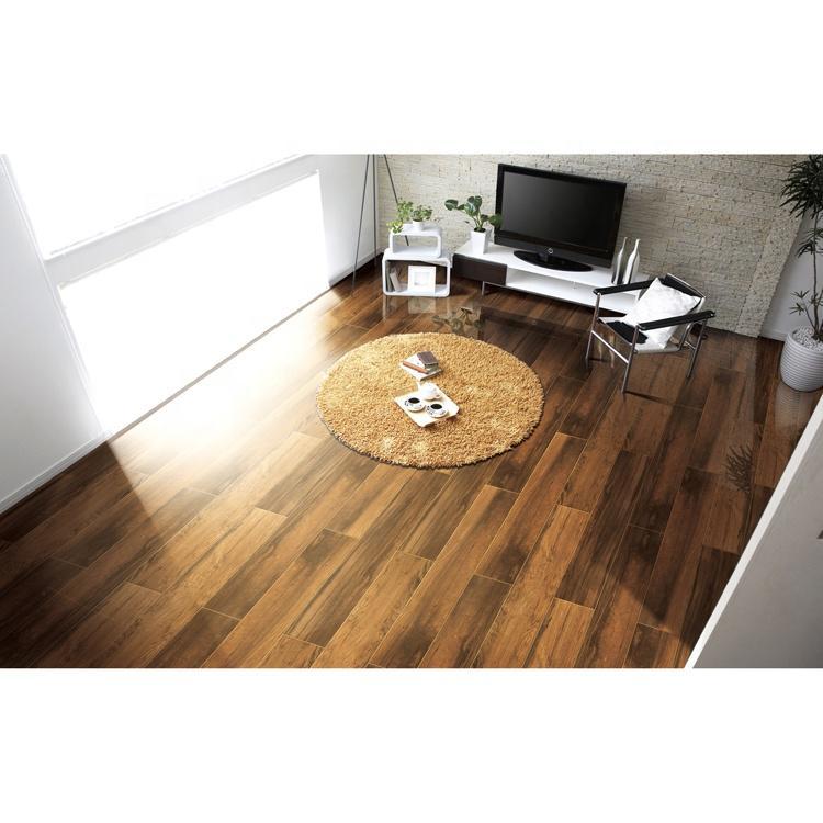 Floor tiles wood and mikado ceramic tile