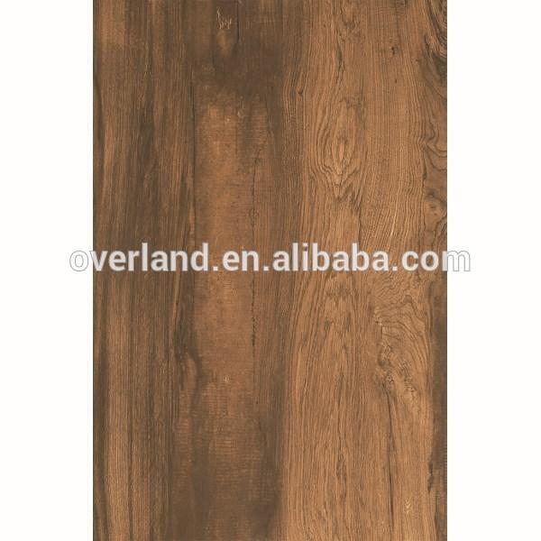 Ceramic tile imitating wood