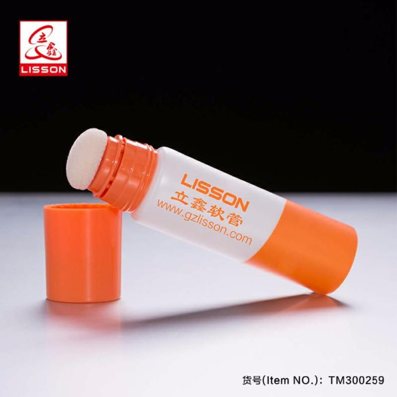 60ml muscle tore repaird used pharmaceutical tube with sponge applicator