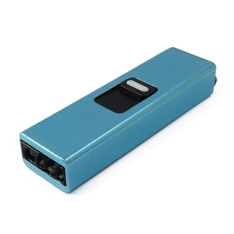 Anti wind battery powered cigarette lighters plasma arc keychain arc usb lighter cigar