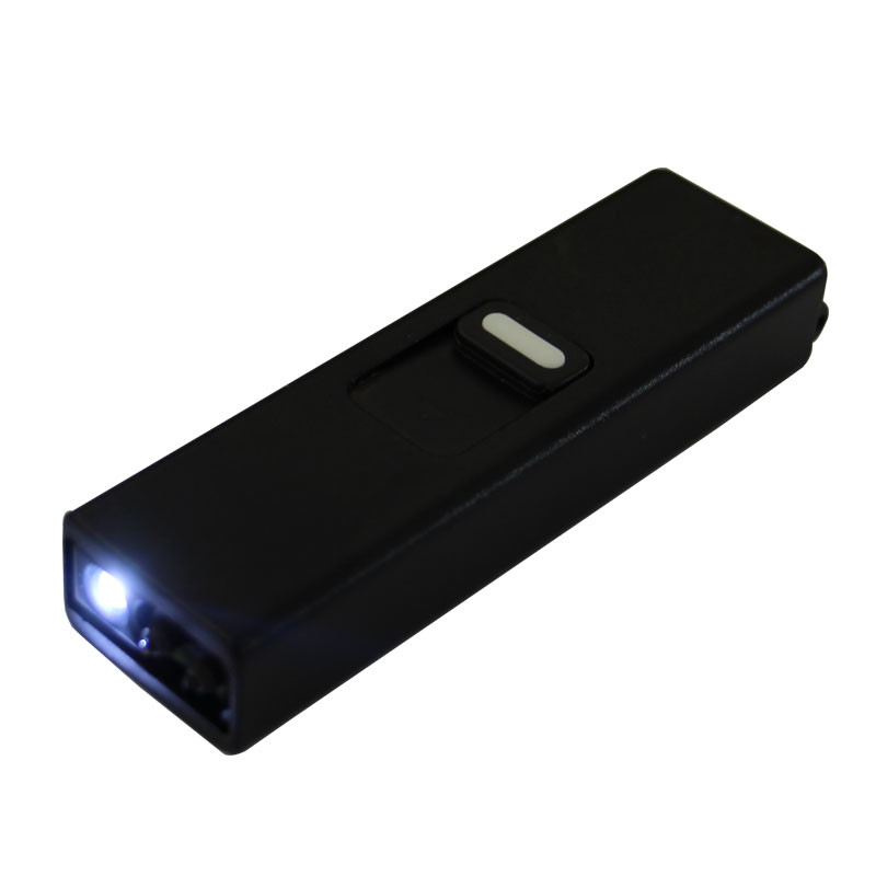 2019 Newest Design Outdoor Fire Starter Windproof LED Tactical Flashlight with Arc Lighter