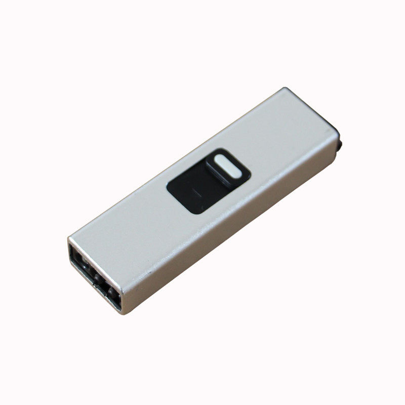 Cost-Effective Customized Logo Elegant Slide Metal USB Lighter