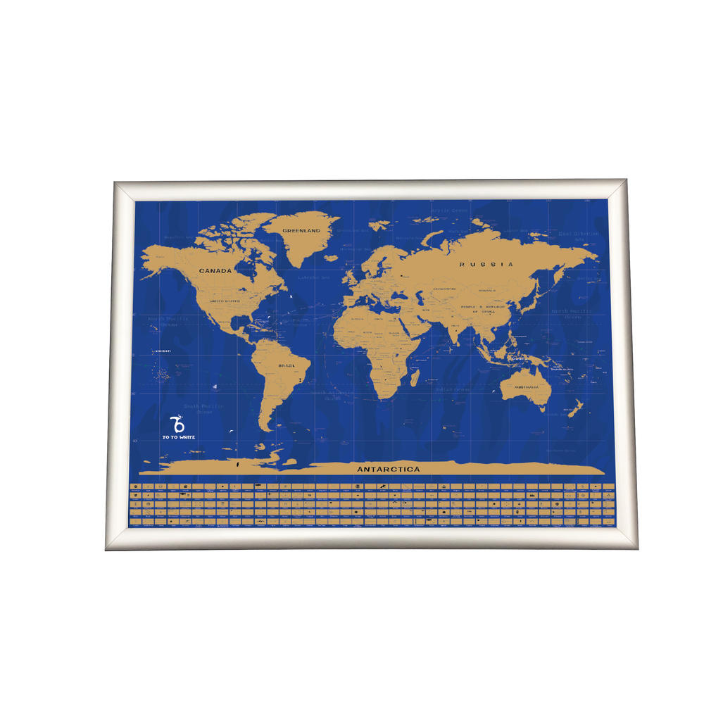 Custom Order USA Edition National Parks Scratch Off Map