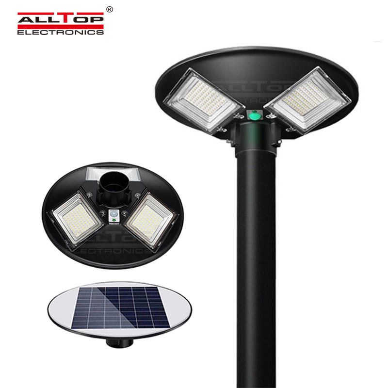 ALLTOP New Design High Power Outdoor Waterproof 300W 500W Solar LED Yard Light Solar Garden Light