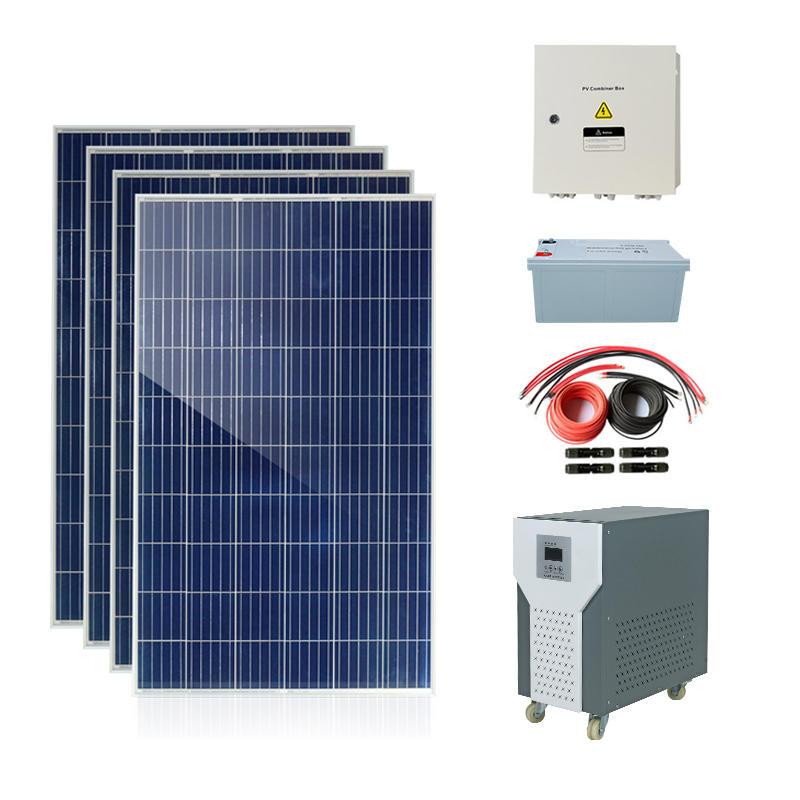 12v Hot selling low profit portable panel home solar led lights kit