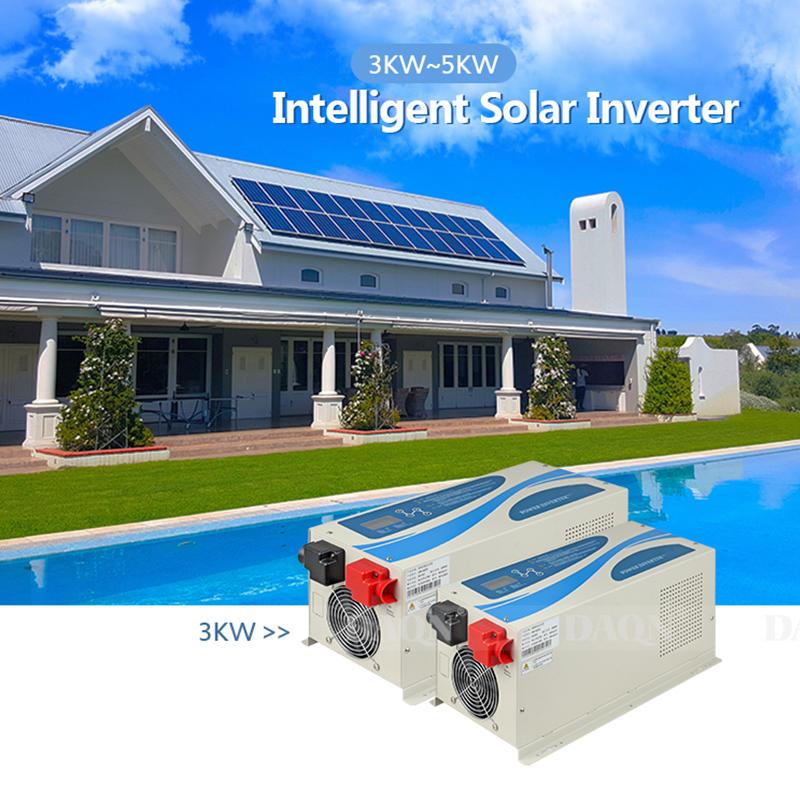 ALLTOP 3KW 5KW Hybrid solar Power system On Grid Intelligent Solar Inverter for Home Use