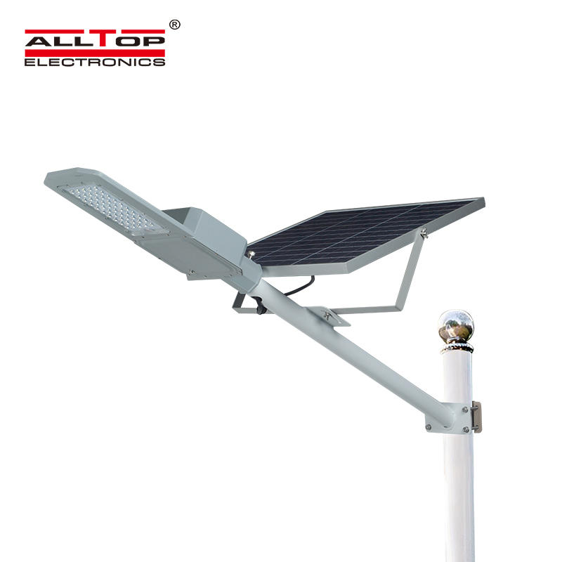 ALLTOP High quality outdoor lighting ip65 waterproof smd 50watt led solar street lamp